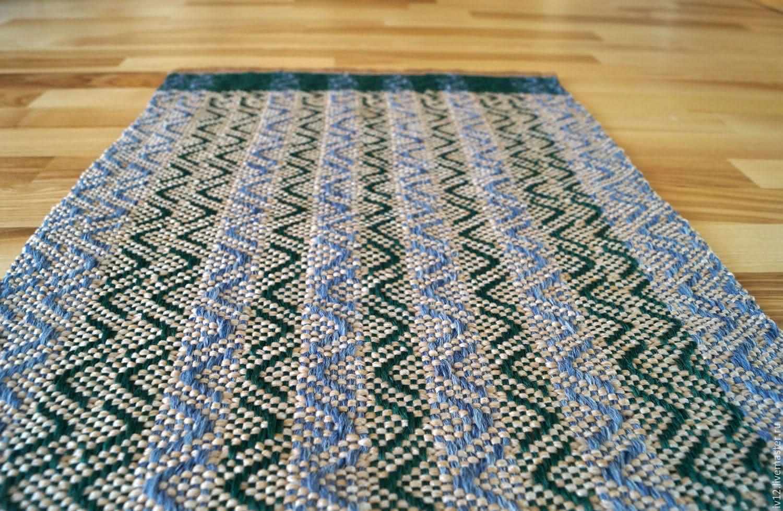 Как своими руками соткать коврик 14