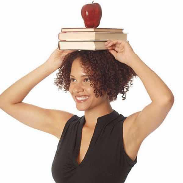 Картинки по запросу картинка ходьба с книгой на голове