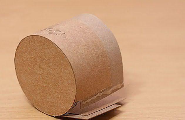 Круглая упаковочная коробка своими руками 98