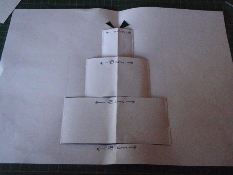 Картинки для, открытка торт из бумаги объемный