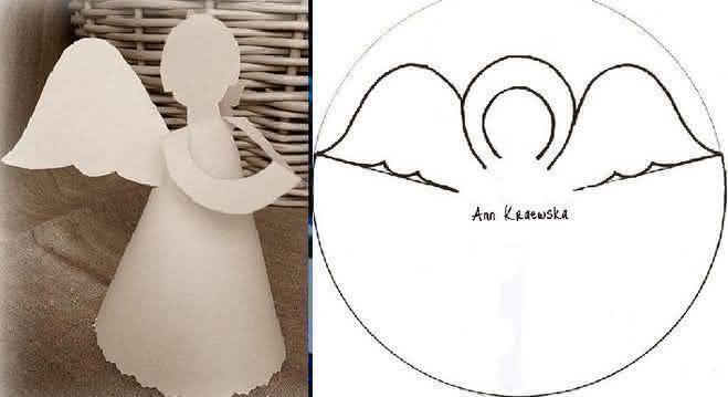 Рождественский ангел из бумаги своими руками: инструкции и шаблоны