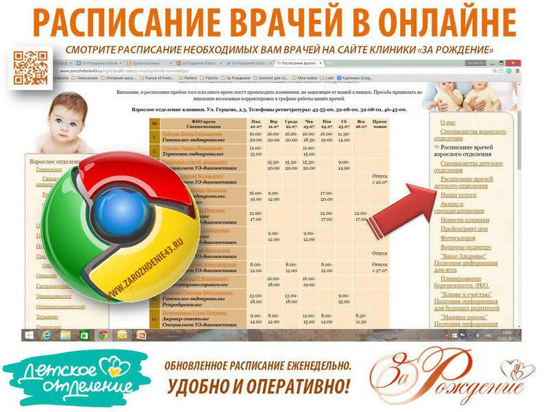 Женская консультация фокинского района расписание врачей