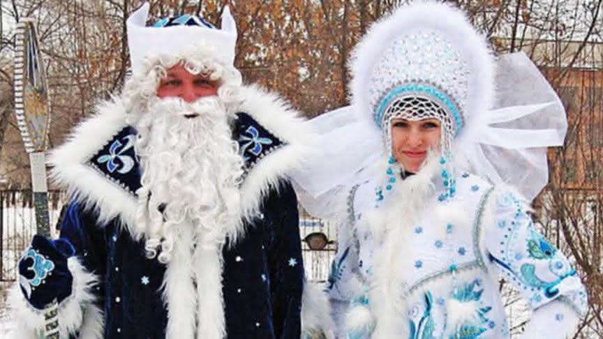Картинки по запросу платья дед мороз и снегурочка