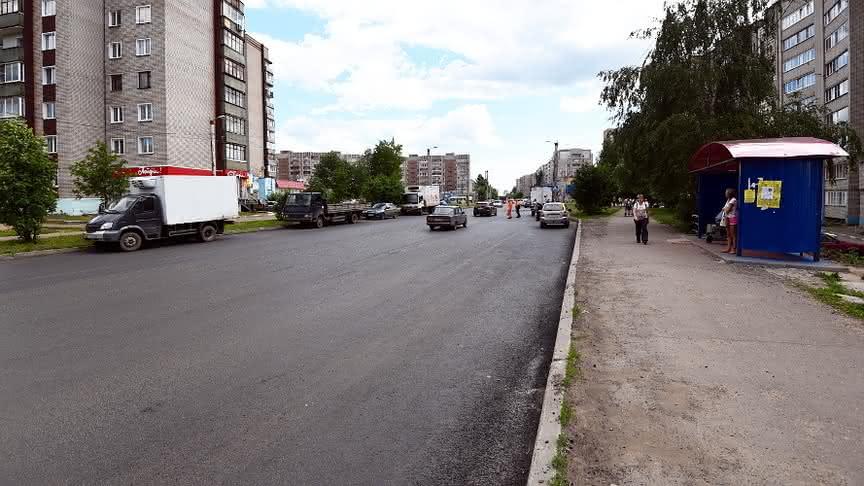 В Кирове завершился ремонт улицы Андрея Упита